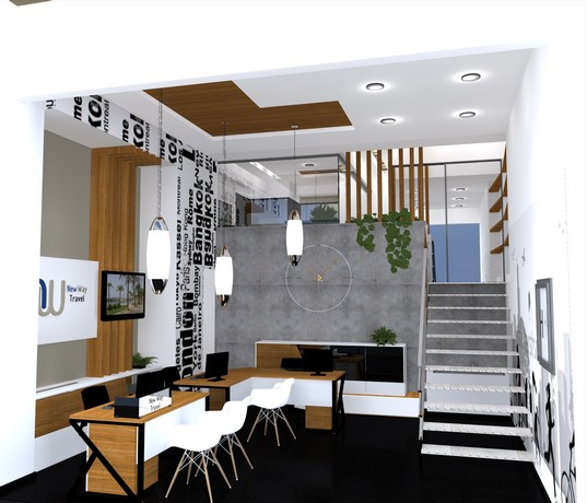 Interior Design Of Travel Agency New Ways Skopje 2013