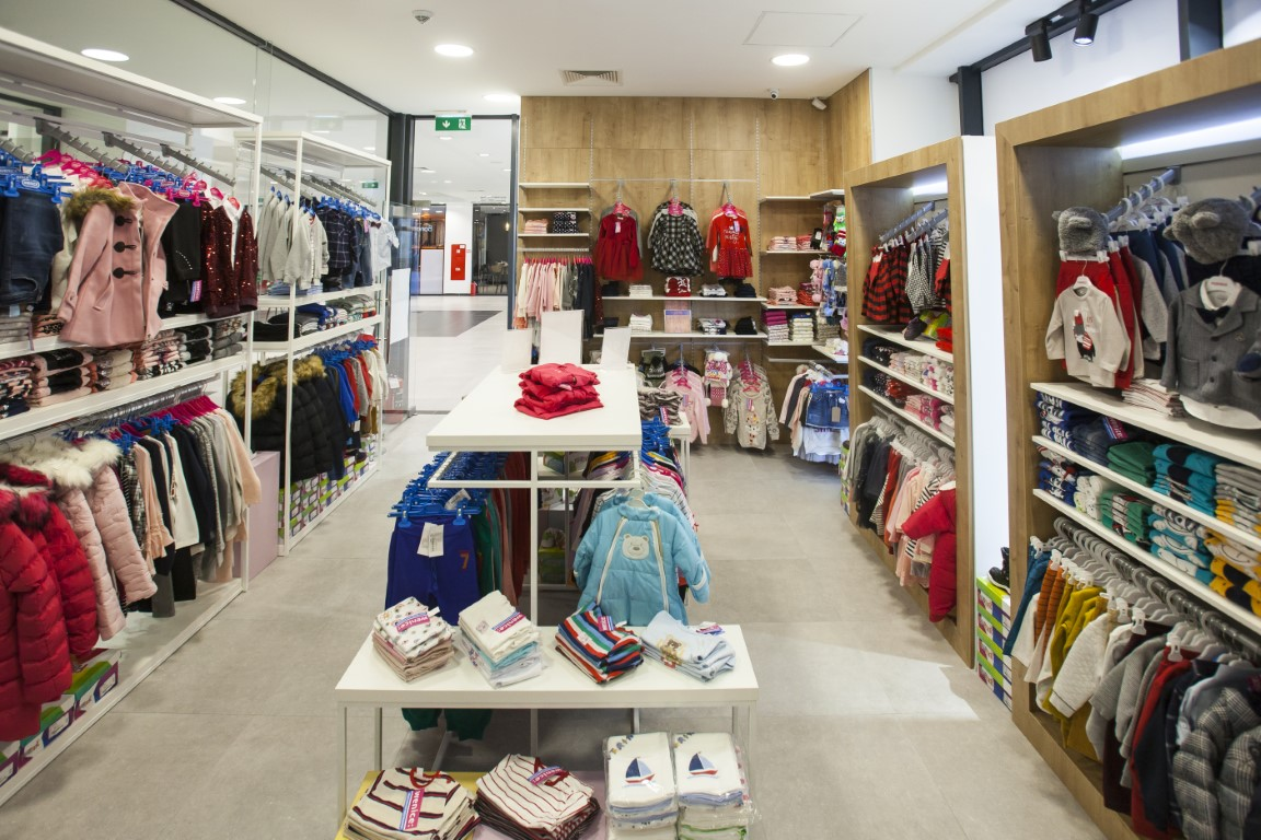 "Interior design of kids store ""WENICE"" Skopje"