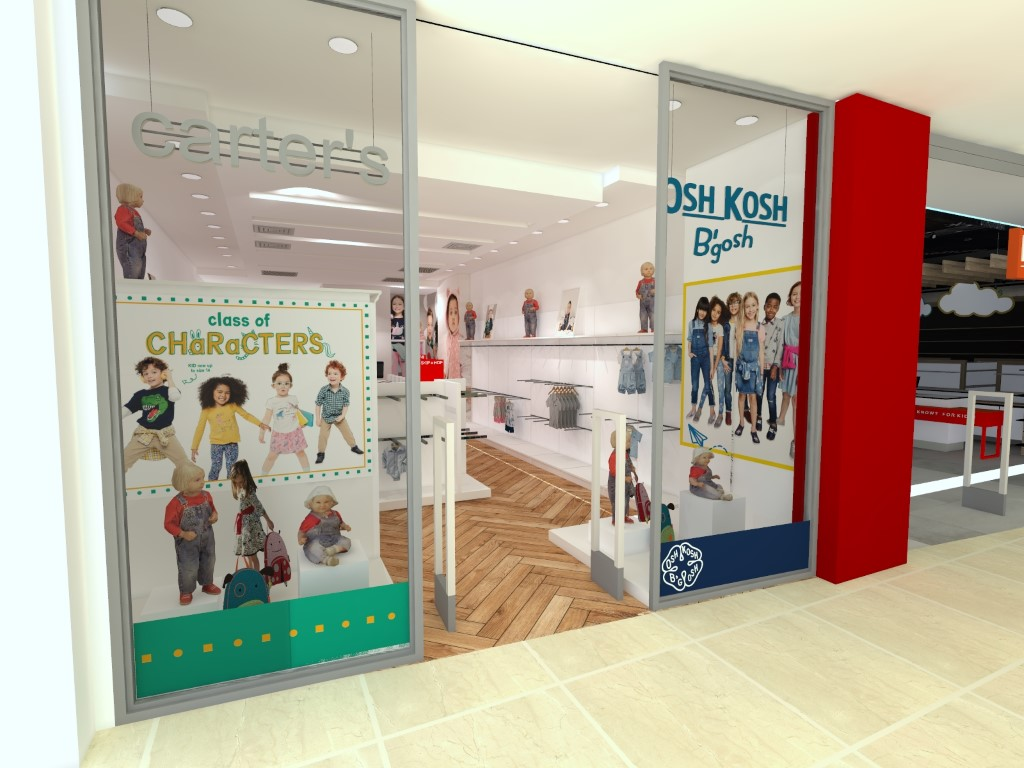 Carters/Oshkosh kids store, Skopje City Mall