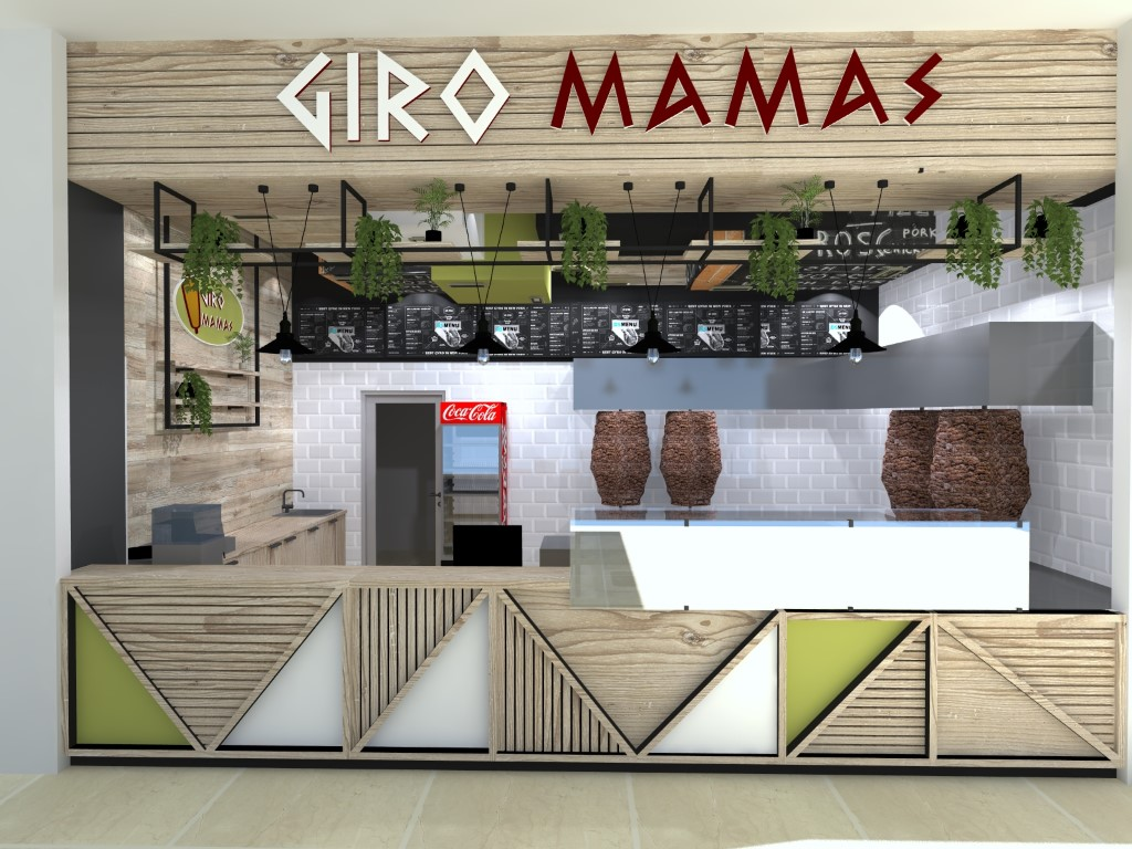 Interior design Giro Mamas, Skopje City Mall