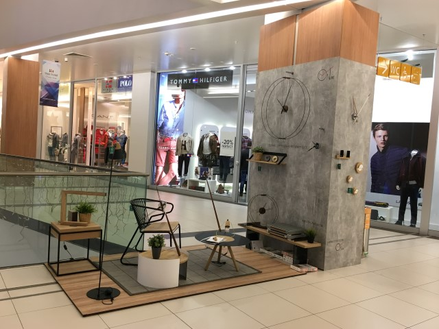 OnTime exhibition space at Skopje City Mall
