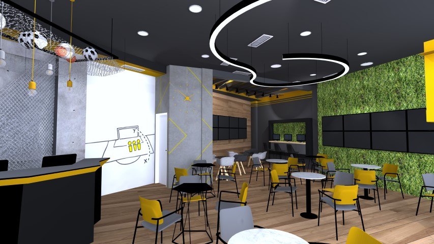 Interior design of betting sites, Tetovo