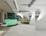 Interior design of administration building and offices, Ozon, Skopje